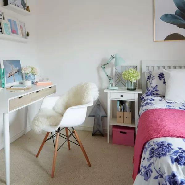 15 فكرة لتصاميم جذابة من غرف نوم البنات المراهقات بالصور