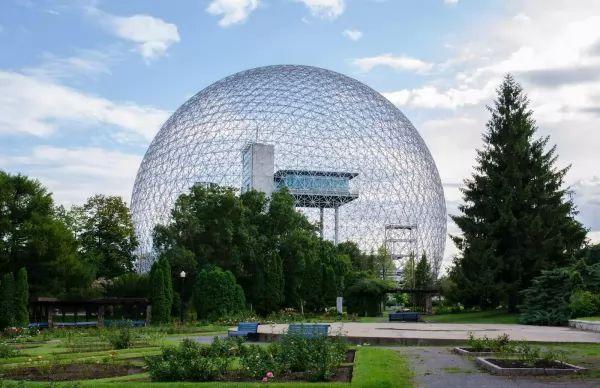 متحف بايوسفير من اجمل اماكن سياحية في مونتريال