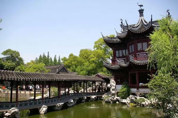 حديقة يو من افضل اماكن سياحية في شنغهاي