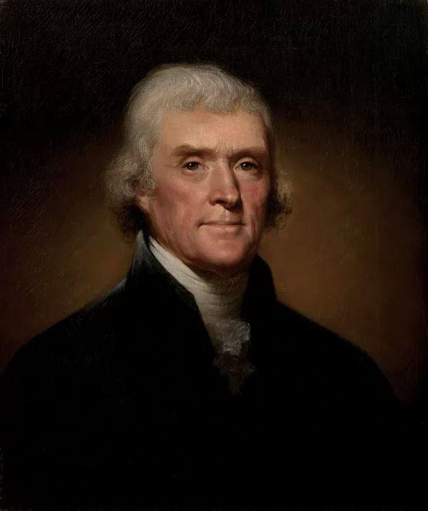 توماس جيفرسون مؤلف اعلان الاستقلال