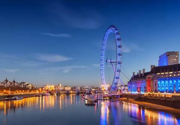 عين لندن من اجمل اماكن سياحية في بريطانيا