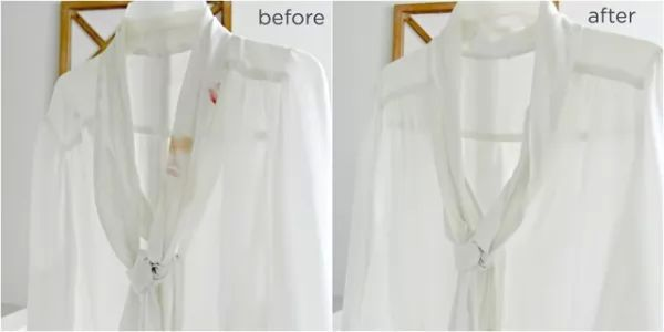 ازالة بقع المكياج من الملابس