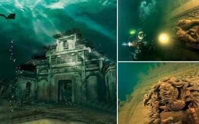 أشهر 10 مدن تحت الماء فقدت من العالم القديم بالصور